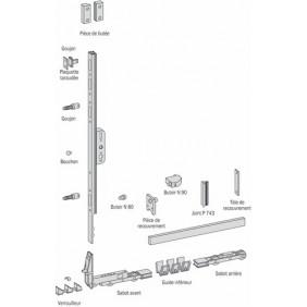 Sachet profil de guidage pour ferrures coulissantes levantes gu 937 FERCO