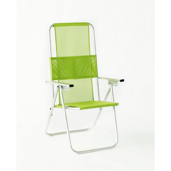 Lot de 2 fauteuils multipositions pliables  – Segura 120 INDOOR OUTDOOR