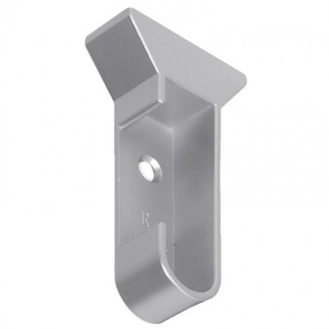 Support d'extrémité pour tube de penderie 30x15 BRICOZOR