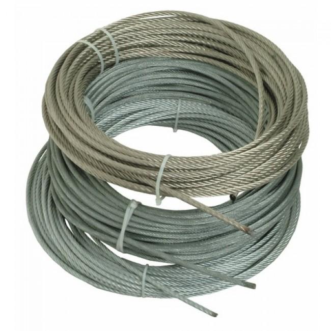 Câble - inox 316 - 7 torons de 19 fils - extra souple BRICOZOR
