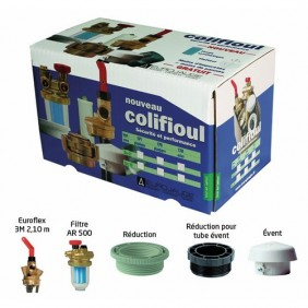 Kit Colifioul avec filtre F/F - pour cuve plastique - AFRISO EUROJAUGE
