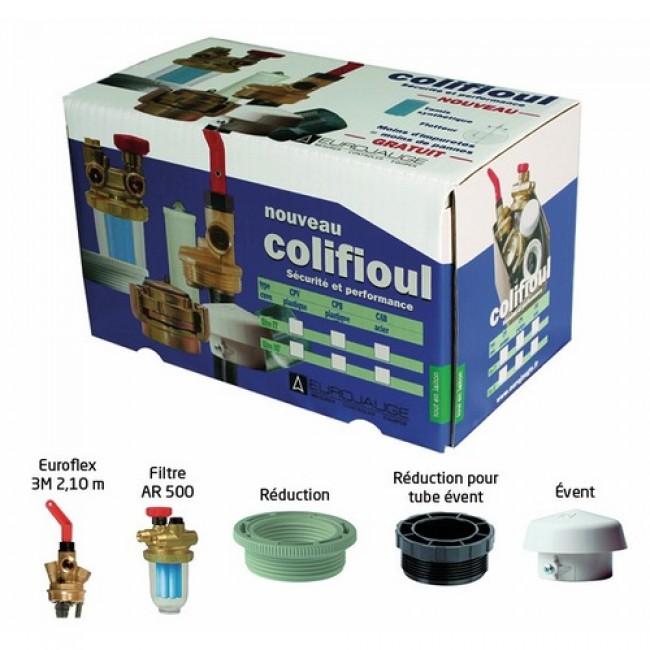 kit colifioul avec filtre f f pour cuve plastique afriso eurojauge bricozor. Black Bedroom Furniture Sets. Home Design Ideas
