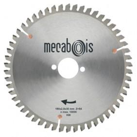 Lames scie circulaire carbure pour aluminium, cuivre et PVC MÉCABOIS