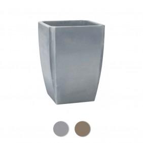 Bac à fleurs carré haut - 65 litres - Palmea 13909 EDA PLASTIQUES