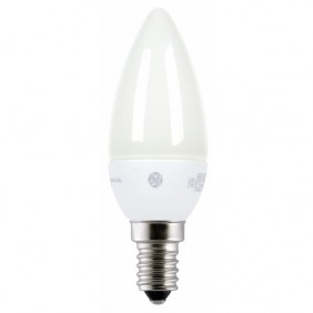 Lampe LED Energy Smart Flamme - blanc étincelant - dimmable - culot E14 GE LIGHTING