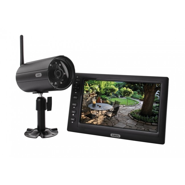 """Kit de vidéosurveillance domestique 7"""" ABUS"""