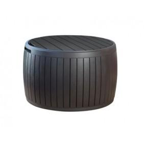 Coffre de jardin marron - 132 litres - Tonneau KETER