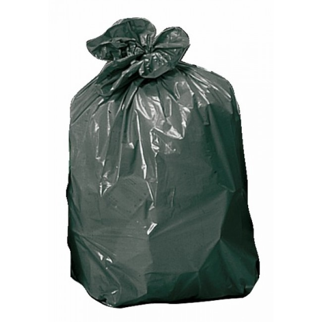 Sacs poubelles 100 litres, 40 microns (x200) BRICOZOR