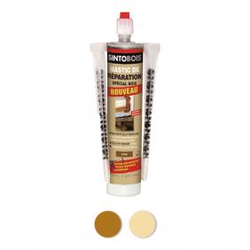 Mastic à bois en cartouche - couleur sapin - 300 ml - Sintobois SINTO