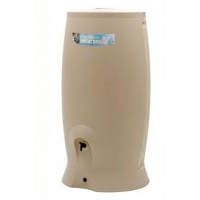 Récupérateur d'eau beige + kit collecteur - 500 litres  - Recup'O EDA PLASTIQUES