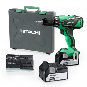 Perceuse à percussion sans fil 18V 4Ah - DV18DBEL4A HITACHI