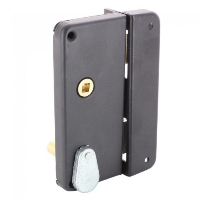 Serrure en applique verticale à gorge avec gâche - extra-plate - 4462 JPM