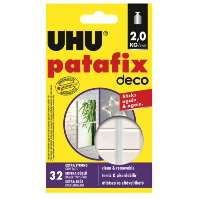 Patafix Déco - 32 pastilles adhésives repositionnables Uhu