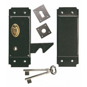 serrure de garage serrure porte de garage bricozor. Black Bedroom Furniture Sets. Home Design Ideas