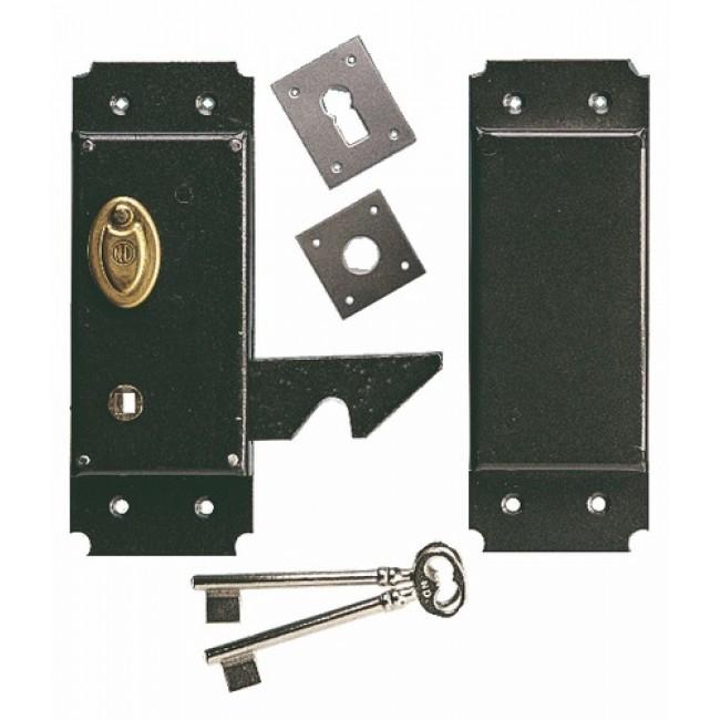 serrure de porte coulissante verticale mentonnet 395 m talux bricozor. Black Bedroom Furniture Sets. Home Design Ideas