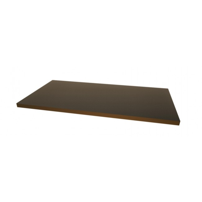 Plateau bas noir - aluminium - Mod14 CAMPS