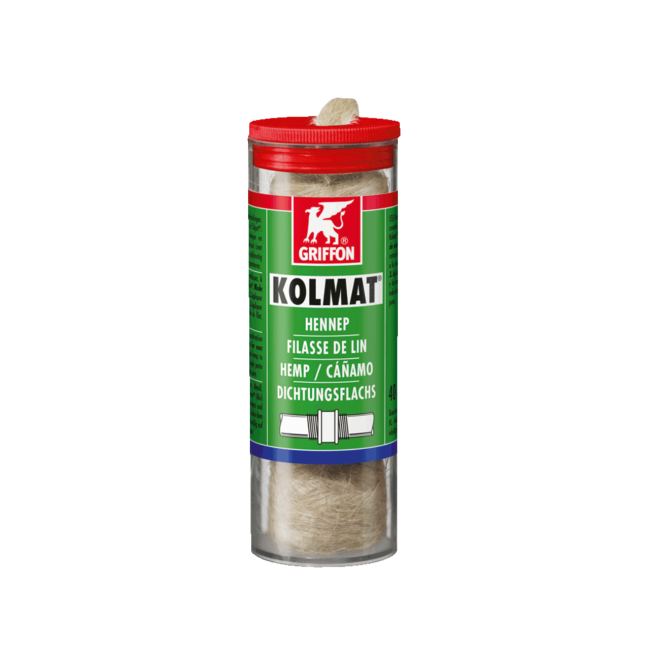 Filasse de lin en bobino - quantité 40 g GRIFFON