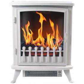 Cheminé décorative - Fire Glass Noire - Flammes 3D - 1000W ou 2000W CHEMIN' ARTE