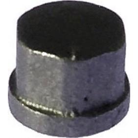 Bouchon fonte femelle galvanisé ou noir CODITAL
