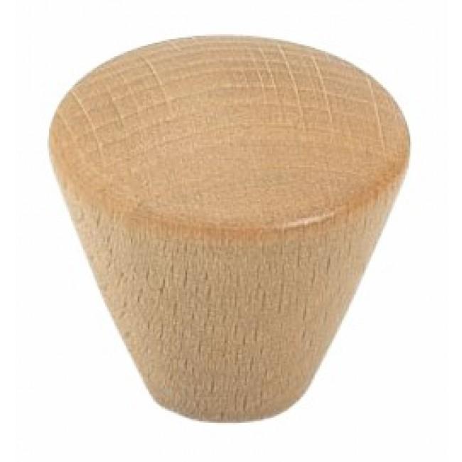Bouton de meuble cône hêtre BRICOZOR