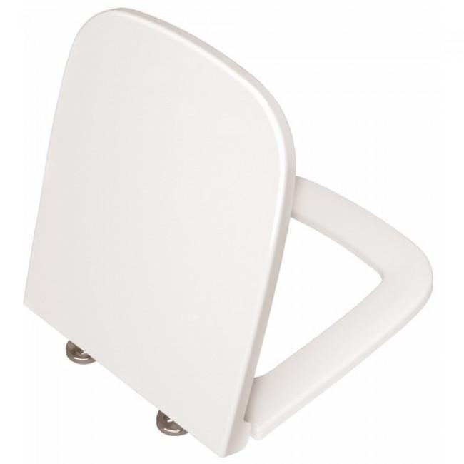 Abattant en plastique thermodur blanc - rectangulaire - Quemenes DUBOURGEL