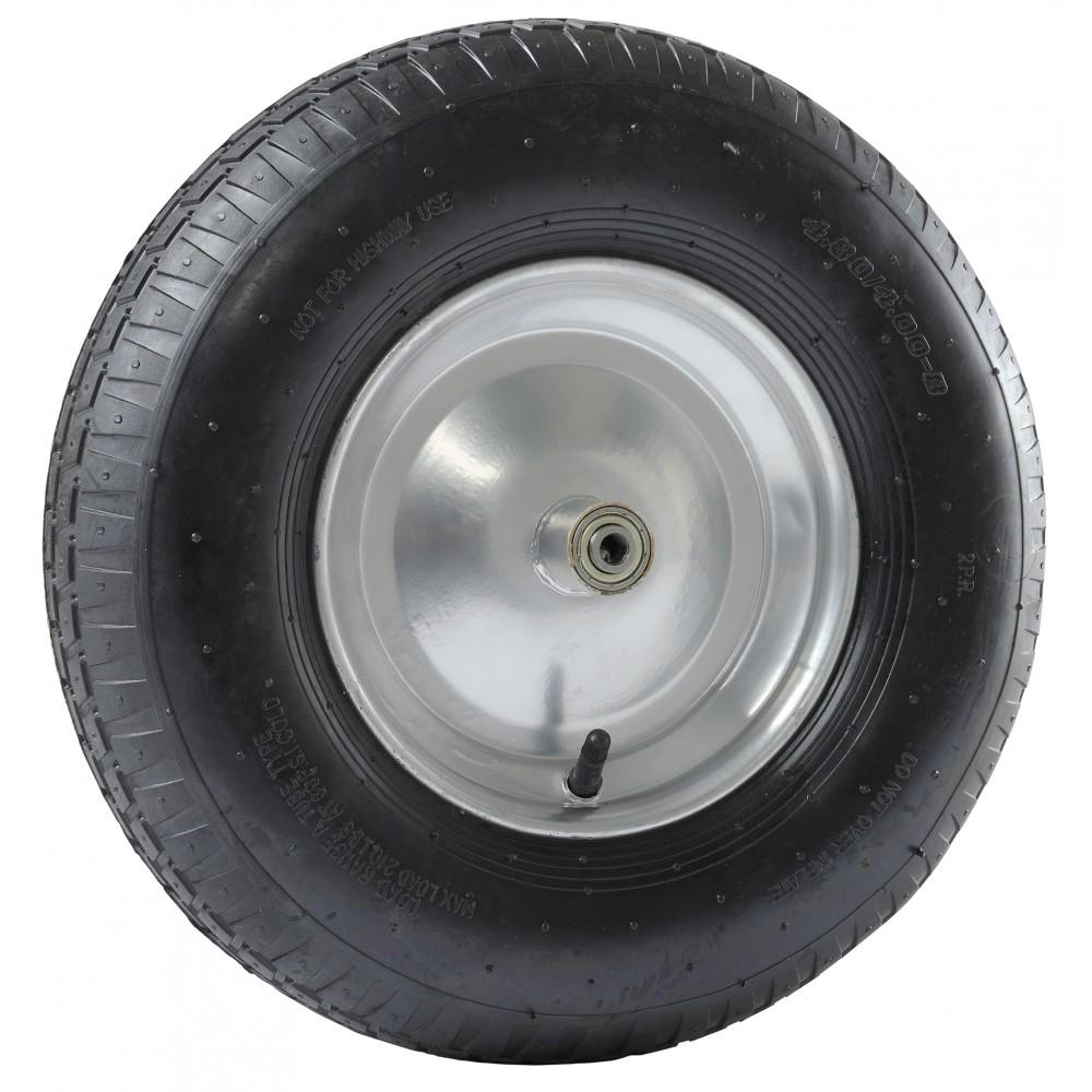 Roue de brouette gonflable diamètre 400mm PF 128 HAEMMERLIN | Bricozor