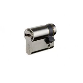 Cylindre de sûreté - laiton nickelé - 5 clés brevetées - 30x10 - Velix VACHETTE