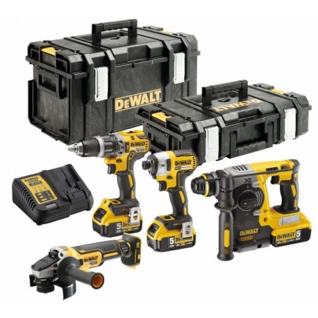 Kit 4 outils XR 18V - DCK422P3-QW DEWALT