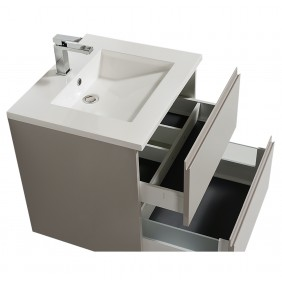 Meuble de salle de bains suspendu - Adele - 60 cm - 2 finitions BATHDESIGN