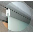 Système porte coulissante en verre Série Expert-vantail 80 kg ROB