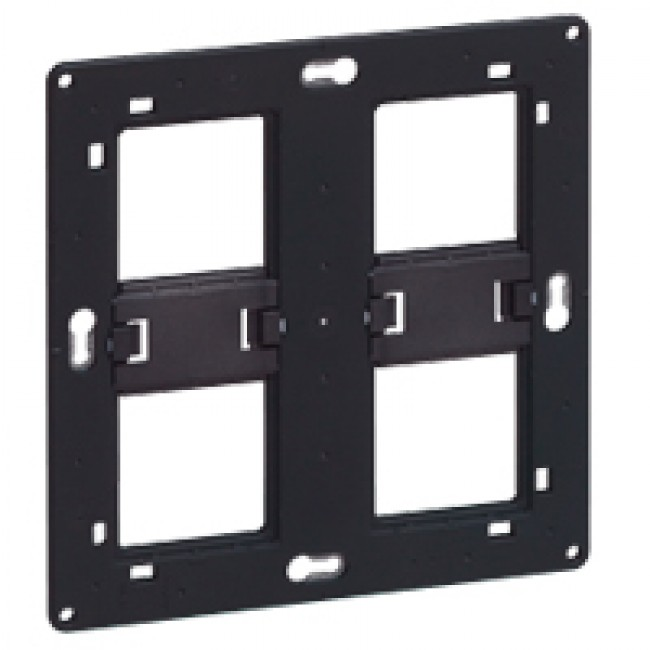 Support à vis Batibox - 2x2 postes - 2 x 4 ou 2 x 5 modules LEGRAND