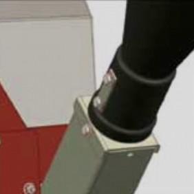 Goulotte latérale pour broyeur BBH55-V2 ISEKI