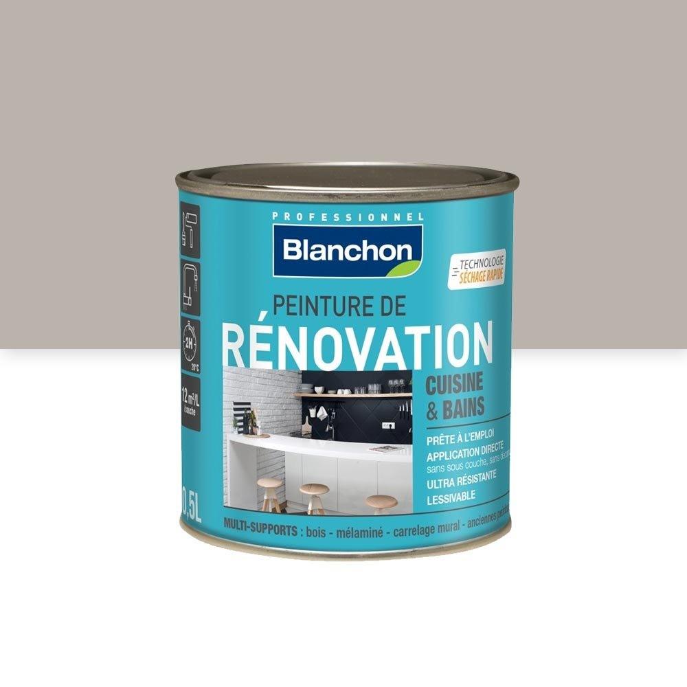 Peinture Pour Meuble En Bois Sans Decapage peinture de rénovation cuisine et bains blanchon