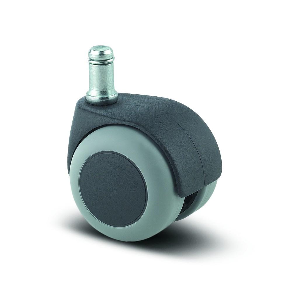 Roulette pivotante pour chaise et fauteuil - moyeu lisse - Lumina TENTE sur  Bricozor