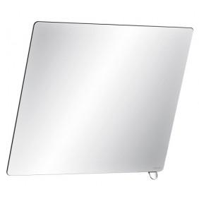 Miroir de toilette - 500 x 600mm - inclinable avec poignée DELABIE