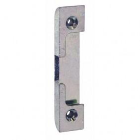 Ferrures M6/4 pour oscillo-battants bois : gâche deux vantaux anti-décrochement FERCO