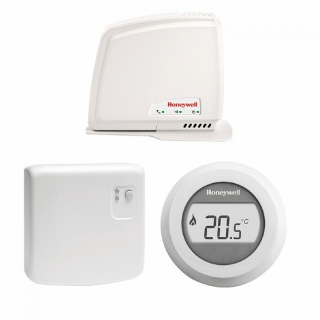 Pack thermostat d'ambiance connecté - sans fil - Y87RFC HONEYWELL