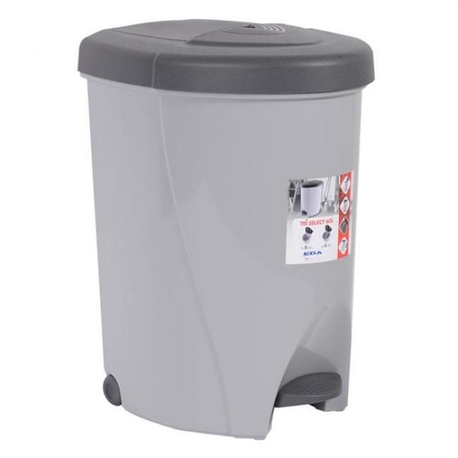 Poubelle de cuisine Tri-Select - 60 litres EDA PLASTIQUES