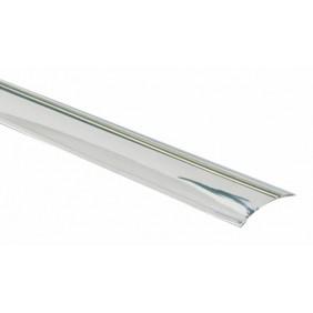 Barre de seuil adhésif - inox brillant 10/10e - largeur 30 mm DINAC