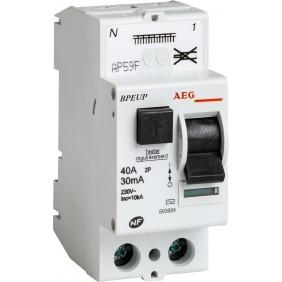 Interrupteur différentiel - RCD connection auto - Type AC AEG