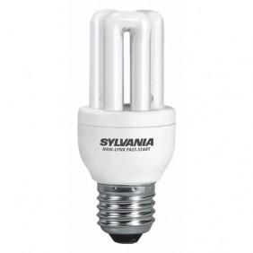 Lampe fluocompacte Mini Lynx Fast Start - culot E27 SYLVANIA