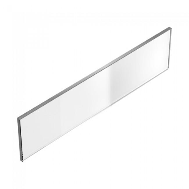 Façade à l'anglaise en verre mi-hauteur - hauteur 66 mm HETTICH