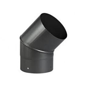 Coude 45° acier émail noir mat - Sanpli TEN