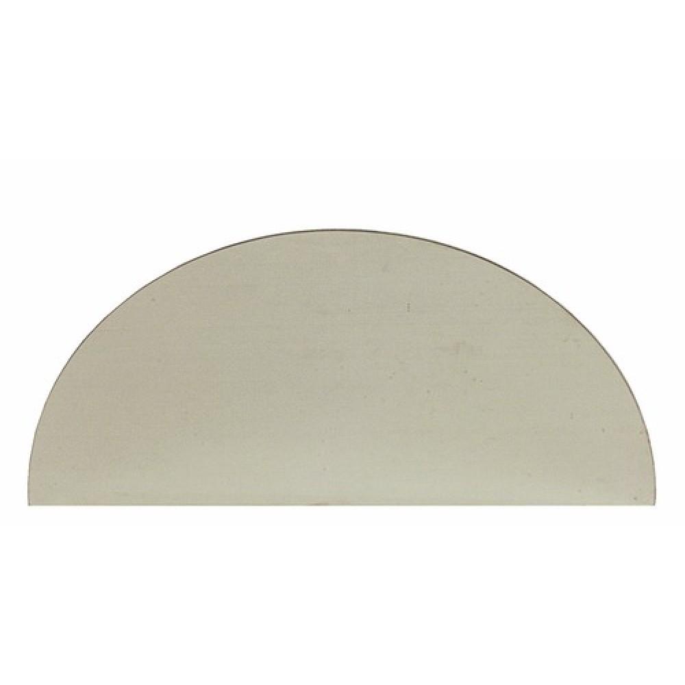 Plaque De Propreté Demilune Adhésive En Inox X Mm BRICOZOR - Plaque de propreté porte