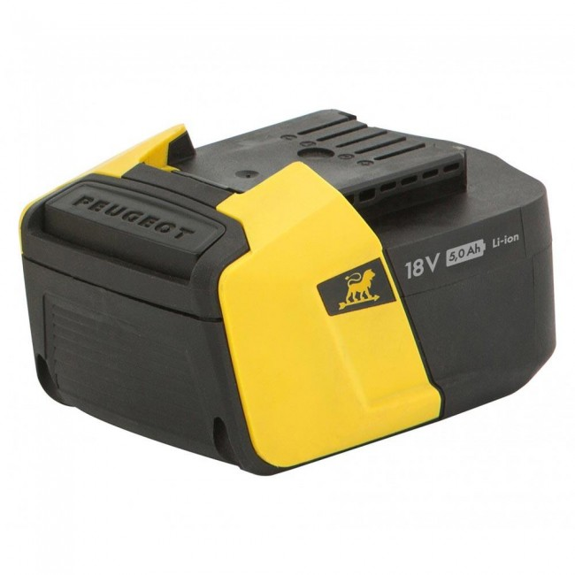 Batterie 5,0 Ah - 18 V - pour outils EnergyHub - ENERGYHUB-18V50 PEUGEOT