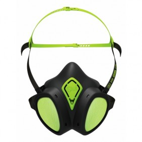 Demi-masque filtrant - contre particules et gaz - A2P3 R D - 8600 BLS