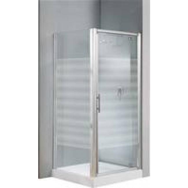 porte de douche pivotante verre transparent lunes g 78 84 cm novellini bricozor. Black Bedroom Furniture Sets. Home Design Ideas