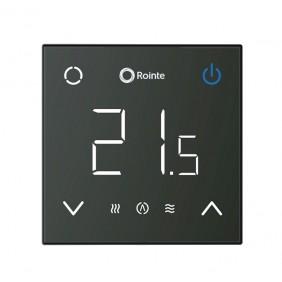 Thermostat intelligent avec connexion Wi-fi CT2 - Noir ou Blanc ROINTE
