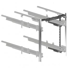 Caisson de bureau à tiroirs simples - kit complet - profil Mosena HETTICH