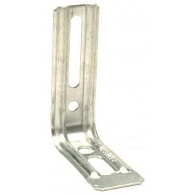 Équerre droite nervurée en acier zingué - END SIMPSON Strong-Tie